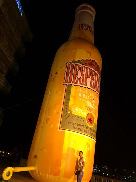 Desperados Beer Tequila Clients Fly Away S A R L